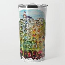 Casa Batllo Barcelona Travel Mug