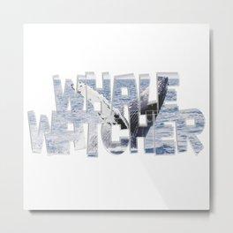 Whale Watcher Metal Print