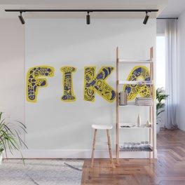 Fika- Folk style Wall Mural