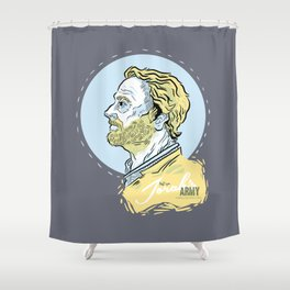 Ser Jorah's Army Shower Curtain