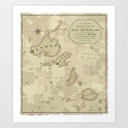 The Dane Archipelago Art Print