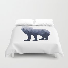 Wolf Forest Duvet Cover