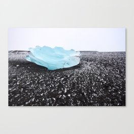 Piece of Glacier Canvas Print