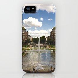 Mannheim Augustaanlage iPhone Case