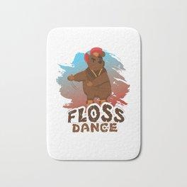 Trends Exercise Movement Flossing Gift Floss Dance Move Bear Bath Mat