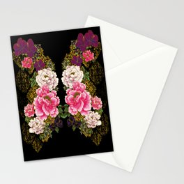 80's Peonies Stationery Cards