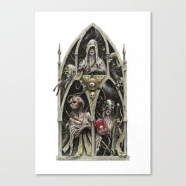 The Stygian Witches Canvas Print