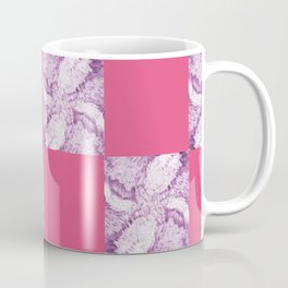 Season of the Square - Cerise check Coffee Mug