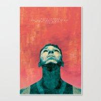 inner demons Canvas Prints featuring Inner Demons by Shute Illustration