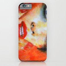 Title: Pastel Portrait - Orange Passion iPhone 6s Slim Case