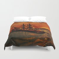 voyage Duvet Covers featuring Voyage by Craig Holland Illustration