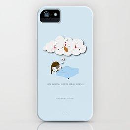 Abre tu mente, quizás no sea una locura… iPhone Case