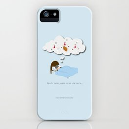 Abre tu mente, quizás no sea una locura… iPhone Case