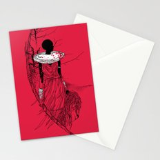 The Lioness Warrior Stationery Cards