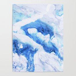 Ocean Marble Poster