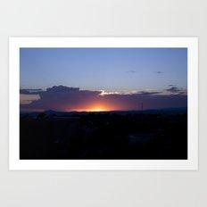 NM Sunset 7 Art Print