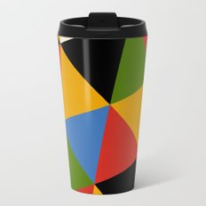 Triangle Pattern Travel Mug