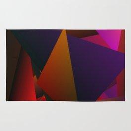 Smoke Screen Abstract 4 Rug