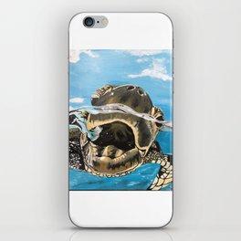 Sea Turtle By Noelle's Art Loft iPhone Skin