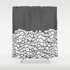 minima - bundle Shower Curtain