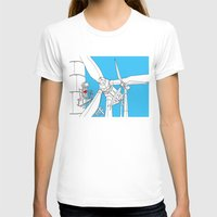 wind T-shirts featuring Wind  by Jonas Ericson