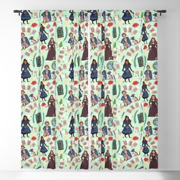 Good Omens Pattern #2  Blackout Curtain