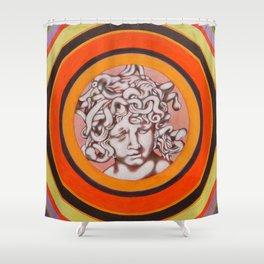 Medusa del Bernini Shower Curtain