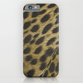 cheetah pattern, big cat, africa iPhone Case