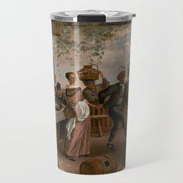 The Dancing Couple - Jan Steen Travel Mug