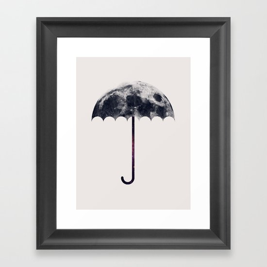 Space Umbrella II Framed Art Print