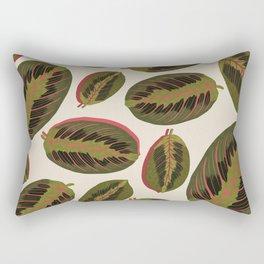 Maranta leaves Rectangular Pillow