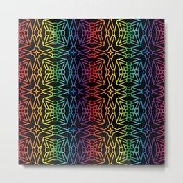 Rainbow Prism Pattern 1 Metal Print