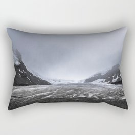 Athabasca glacier Rectangular Pillow