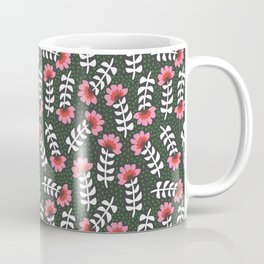 Camelita Retro Folk Flower Coffee Mug