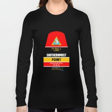 Southern Most Point, Key West, Florida/サザン・モスト・ポイント Long Sleeve T-shirt