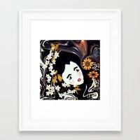 marianna Framed Art Prints featuring Marianna  by I.K.Iosifelli
