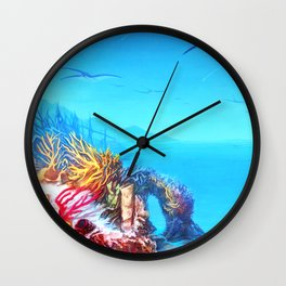 Manta Bay Wall Clock