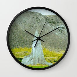 Cathedral at the Cliff Wall Clock