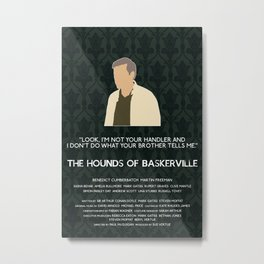 The Hounds of Baskerville - Greg Lestrade Metal Print