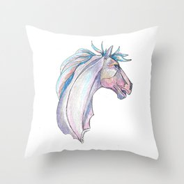 """Stang"" Throw Pillow"