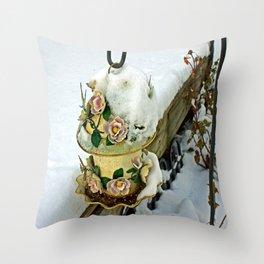 Winter Home Throw Pillow