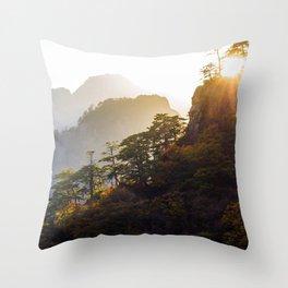 Seoraksan Layers Throw Pillow