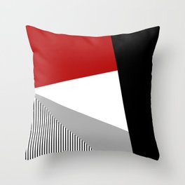 Modern geometry Throw Pillow