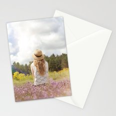 Sea Lavender Stationery Cards