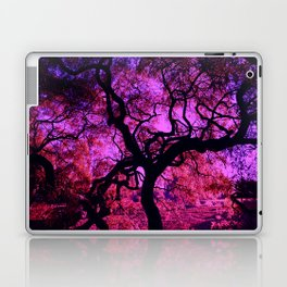 Under the Tree in Pink and Purple Laptop & iPad Skin
