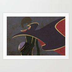 Lelouch Art Print
