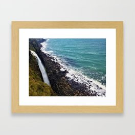 Kilt Rock (Scotland) Framed Art Print