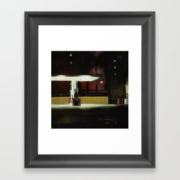 Diesel Only Framed Art Print