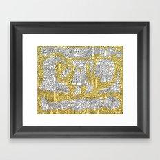 Alibi Framed Art Print