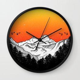 Rila Bulgaria Wall Clock